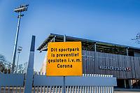 AMSTELVEEN - Ook het Wagener Stadion en de hockeyvelden van Amsterdam zijn verboden terrein  ivm Coronavirus. . COPYRIGHT KOEN SUYK