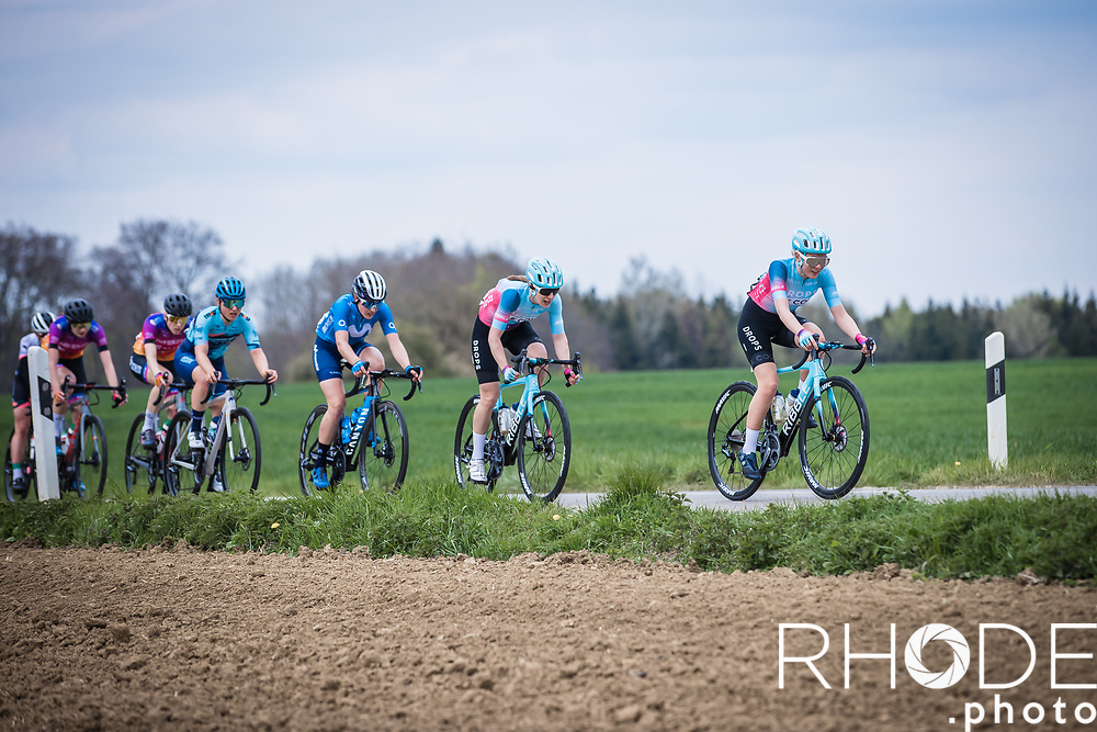 Anna Christian (GBR/Drops-LeCol), Dani Christmas (GBR/Drops-LeCol)<br /> <br /> Ceratizit Festival Elsy Jacobs (LUX) 2021<br /> UCI Women Elite 2.1<br /> Day 2 – stage : Steinfort >Steinfort 125.1km  <br /> <br /> ©RhodePhoto