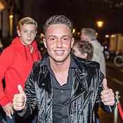 NLD/Amsterdam/20171006 - Concert Alleen van Lil Kleine, Djarno Hofland