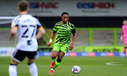 Udoka Godwin-Malife of Forest Green Rovers attacks forward with the ball- Mandatory by-line: Nizaam Jones/JMP - 16/01/2021 - FOOTBALL - innocent New Lawn Stadium - Nailsworth, England - Forest Green Rovers v Port Vale - Sky Bet League Two