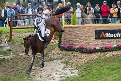 Kristina Cook, (GBR), De Novo News - Eventing Cross Country test - Alltech FEI World Equestrian Games™ 2014 - Normandy, France.<br /> © Hippo Foto Team - Leanjo de Koster<br /> 30/08/14