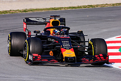 February 19, 2019 - Montmelo, BARCELONA, Spain - Pierre Gasly from France with 10 Aston Martin Red Bull Racing - Honda RB15 in action during the Formula 1 2019 Pre-Season Tests at Circuit de Barcelona - Catalunya in Montmelo, Spain on February 19. (Credit Image: © AFP7 via ZUMA Wire)