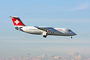 Swiss International Air Lines, British Aerospace Avro 146-RJ100