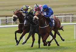 Terzetto ridden by Colm O'Donoghue (right) wins The Irish Stallion Farms EBF Fillies Handicap during day two of the Darley Irish Oaks Weekend at Curragh Racecourse, County Kildare.