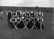 27/07/1952<br /> 07/27/1952<br /> 27 July 1952<br /> Camogie: All-Ireland semi-final Galway v Dublin at Croke Park. The Galway team.