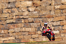 September 21, 2018 - Alcaniz, Teruel, Spain - Marc Marquez (93) of Spain and Repsol Honda Team during free practice for the Gran Premio Movistar de Aragon of world championship of MotoGP at Motorland Aragon Circuit on September 21, 2018 in Alcaniz, Spain. (Credit Image: © Jose Breton/NurPhoto/ZUMA Press)