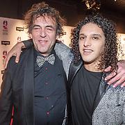 NLD/Hilversum/20160215 - Buma Awards 2016, Han Koreneef en Ali B