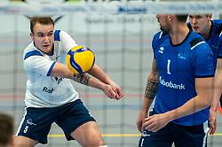 Mart de Groot of Sliedrecht Sport in action during the quarter cupfinal between Taurus vs. Sliedrecht Sport on April 02, 2021 in sports hall De Kruisboog, Houten