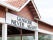 A Rwandan genocide memorial on the outskirts of Kigali, Rwanda