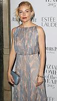 Sienna Miller, Harper's Bazaar Women of the Year Awards, Claridge's, London UK, 03 November 2015, Photo by Richard Goldschmidt