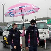 08.10.2020, Nürburgring, Nürburg, Formula 1 Aramco Grosser Preis der Eifel 2020<br /> , im Bild<br />Lance Stroll (CAN#18), BWT Racing Point F1 Team<br /> <br /> Foto © nordphoto / Bratic