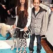 NLD/Amsterdam/20101114 - Premiere kinderfilm Dik Trom, fiona Livingston en Julien van Soest