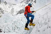 Art Muir on Mount Everest