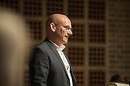 Festtale v/ Erhvervsdirektør Niels Christensen. Aalborg Haandværkerforening, de lokale laug og mesterforeninger, Tech College og Aalborg Kommunes legatuddelinger. Foto: © Michael Bo Rasmussen / Baghuset. Dato: 10.05.16