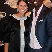 NLD/Amsterdam/20120217 - Premiere Saturday Night Fever, Inge van Ende en partner