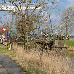 07-03-2020: Wielrennen: Ronde van Groningen: Usquert<br />Ronde van Groningen werd onder niet al te lichte omstandigheden verreden