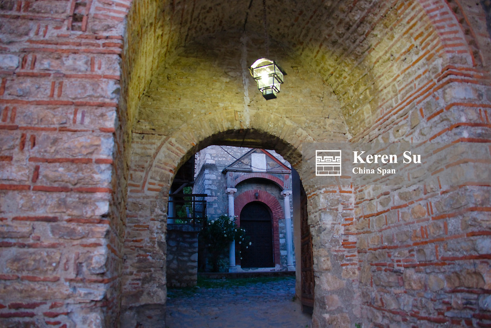 Tunnel under the Clock Tower, Ohrid, Republic of Macedonia