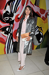 TANIA FARES at the Vogue Festival Party 2013 in association with Vertu held at the Queen Elizabeth Hall, Southbank Centre, London SE1 on 27th April 2013.