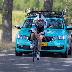 13-09-2020: Wielrennen: NK tijdrijden nieuwelingen en junioren: Chaam<br />Daan van den Eijden