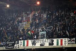 """Foto Filippo Rubin<br /> 06/03/2018 Cesena (Italia)<br /> Sport Calcio<br /> Cesena - Pro Vercelli - Campionato di calcio Serie B ConTe.it 2017/2018 - Stadio """"Dino Manuzzi""""<br /> Nella foto: I TIFOSI DEL CESENA<br /> <br /> Photo by Filippo Rubin<br /> March 06, 2018 Cesena (Italy)<br /> Sport Soccer<br /> Cesena - Pro Vercelli - Italian Football Championship League B 2017/2018 - """"Dino Manuzzi"""" Stadium <br /> In the pic: CESENA SUPPORTERS"""