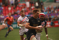 April 7, 2018 - Hong Kong, CHINA - US Team won the match against Argentina by scoring 31:17 in todays game at Hong Kong Rugby Sevens 2018. Apr-7,2018 Hong Kong.ZUMA/Liau Chung Ren (Credit Image: © Liau Chung Ren via ZUMA Wire)