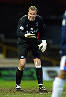 Photo: Scott Heavey, Digitalsport<br /> Watford v Crystal Palace. Nationwide Division One. 17/01/2004.<br /> Thomas Myhre
