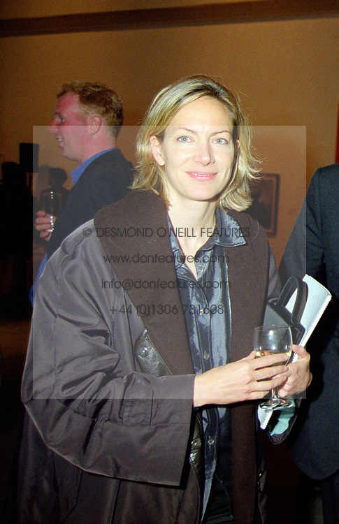 2 August 2020 - Helen Kirwan-Taylor at an exhibition in London on 1st November 1999.<br /> <br /> Photo by Dominic O'Neill/Desmond O'Neill Features Ltd.  +44(0)1306 731608  www.donfeatures.com