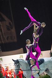 Team SUI, Will Be Good, Monika Winkler  - Squad Final Vaulting - Alltech FEI World Equestrian Games™ 2014 - Normandy, France.<br /> © Hippo Foto Team - Jon Stroud<br /> 05/09/2014