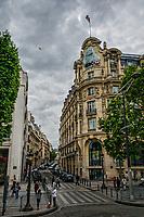 Intersection of Avenue des Champs-Élysées & Rue de Bassano