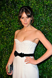 Felicity Jones attends the 58th London Evening Standard Theatre Awards in association with Burberry, London, UK, November 25, 2012. Photo by Chris Joseph / i-Images.
