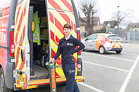 Commercial photography for SGN uniform re-branding, at the Ryde depot on the Isle of Wight.