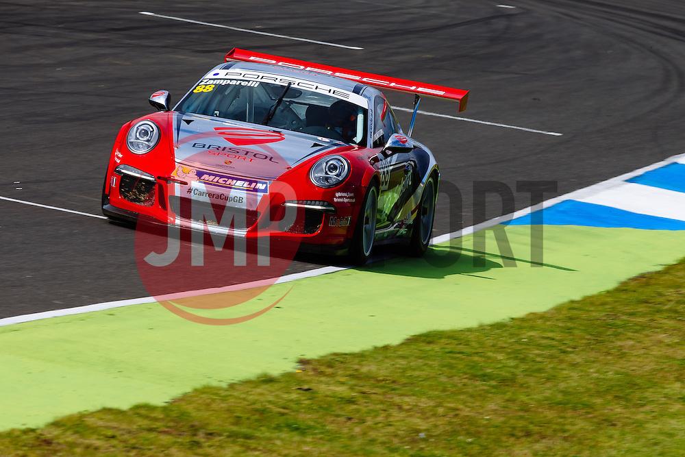 Dino Zamparelli | Bristol Sport Racing | #88 Porsche 911 GT3 Cup Car | Porsche Carrera Cup GB | Free Practice - Mandatory byline: Rogan Thomson/JMP - 07966 386802 - 21/08/2015 - MOTORSPORT - Knockhill Racing Circuit - Dunfermline, Scotland - BTCC Meeting Test Day.