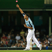 John Aloisi in action  during Australia's Big Bash Cricket match to raise money for the Victorian Bushfire Appeal at the Sydney Cricket Ground, Sydney, Australia on February 22, 2009. The match was attended by over 20,000 spectators.  Photo Tim Clayton