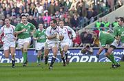 Twickenham. Surrey, UK., 16th February 2002, Six Nations International Rugby,  RFU Stadium, England vs Ireland,  [Mandatory Credit: Peter Spurrier/Intersport Images],<br /> <br /> The Lloyds TSB Six Nations Championship<br /> England v Ireland<br /> RFU - Twickenham<br /> 16/02/2002, Kyran BRACKEN,