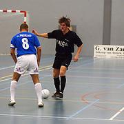 ZVV Hilversum - FC Marlene, Kenneth Goudmijn(8,) Eric de Jongh