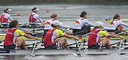 Lucerne, SWITZERLAND.<br /> <br /> Women's Quadruple Sculls, Final. Finals day. 2016 FISA WCII. Lake Rotsee<br /> <br /> Sunday  29/05/2016<br /> <br /> [Mandatory Credit; Peter SPURRIER/Intersport-images]