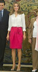 Letizia, Princess of Asturias, Spain 21-9-12