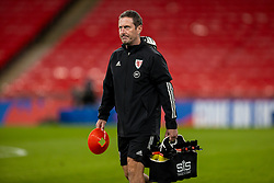 LONDON, ENGLAND - Thursday, October 8, 2020: Wales' head of performance Tony Strudwick before the International Friendly match between England and Wales at Wembley Stadium. The game was played behind closed doors due to the UK Government's social distancing laws prohibiting supporters from attending events inside stadiums as a result of the Coronavirus Pandemic. England won 3-0. (Pic by David Rawcliffe/Propaganda)