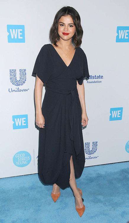 April 20, 2018 - Los Angeles, California, USA - 4/19/18.Selena Gomez at ''We Day California'' in Los Angeles, CA. (Credit Image: © Starmax/Newscom via ZUMA Press)