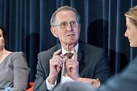 13 SEP 2018, BERLIN/GERMANY:<br /> Prof. Dr. Dr. h.c. Bert Ruerup, Praesident Handelsblatt Research Institute, Jahreskonferenz SPD Wirtschaftsforum, Maritim proArte Hotel<br /> IMAGE: 20180913-02-238<br /> KEYWORDS: Bert Rürup