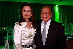 Dra. Waleska Santos com o Dr. Ivo Pitanguy durante o jantar da HOSPITALAR 2013 - 20ª Feira Internacional de Produtos, Equipamentos, Serviços e Tecnologia para Hospitais, Laboratórios, Clínicas e Consultórios, que acontece de 21 a 24 de maio de 2013, no Expo Center Norte, em São Paulo. FOTO: Jefferson Bernardes/Preview.com