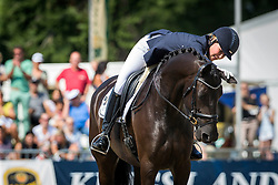 Rummenigge Charlotte (GER) - Loveliness<br /> FEI World Dressage Championships for Young Horses<br /> Internationales Dressur- und Springfestival - Verden 2014<br /> © Dirk Caremans
