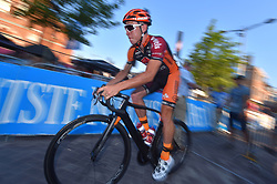 August 3, 2018 - Putte, BELGIUM - Belgian Laurens Sweeck of Pauwels Sauzen Vastgoed service pictured in action during the one lap time trial at the 3rd edition of the 'Natourcriterium Putte' cycling event, Friday 03 August 2018 in Putte. The contest is a part of the traditional 'criteriums', local races in which mainly cyclists who rode the Tour de France compete. BELGA PHOTO LUC CLAESSEN (Credit Image: © Luc Claessen/Belga via ZUMA Press)