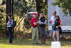 Team Belgium, Loge Laura, Van den Abeele Alec, Rigouts Marc, De Liedekerke Lara<br /> European Championship Eventing<br /> Luhmuhlen 2019<br /> © Hippo Foto - Dirk Caremans