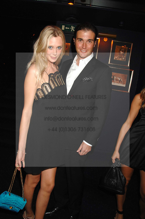 LISA HENREKSON and DAVID PEACOCK at a party to celebrate the publication of the 2007 Tatler Little Black Book held at Tramp, 40 Jermyn Street, London on 7th November 2007.<br /><br />NON EXCLUSIVE - WORLD RIGHTS
