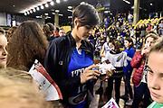 DESCRIZIONE : Lucca Nazionale Italia Femminile Qualificazione Europeo Femminile Italia Albania Italy Albania<br /> GIOCATORE : Alice Sabatini <br /> CATEGORIA : postgame vip<br /> SQUADRA : Italia Italy<br /> EVENTO : Qualificazione Europeo Femminile<br /> GARA : Italia Albania Italy Albania<br /> DATA : 21/11/2015 <br /> SPORT : Pallacanestro<br /> AUTORE : Agenzia Ciamillo-Castoria/GiulioCiamillo<br /> Galleria : FIP Nazionali 2015<br /> Fotonotizia : Lucca Nazionale Italia Femminile Qualificazione Europeo Femminile Italia Albania Italy Albania