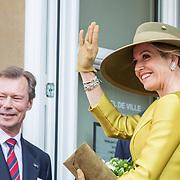 LUX/Luxemburg/20180523 - Staatsbezoek Luxemburg dag 1, Koningin Maxima en Groothertog Henri
