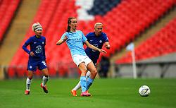 Jill Scott of Manchester City Women looks for a pass- Mandatory by-line: Nizaam Jones/JMP - 29/08/2020 - FOOTBALL - Wembley Stadium - London, England - Chelsea v Manchester City - FA Women's Community Shield