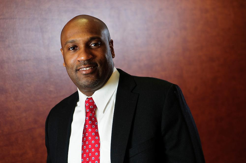 Berlon Hamilton, Supplier Diversity Leader at Hospira. March 5, 2012. Copyright 2012 Brian J. Morowczynski ViaPhotos