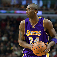 15 December 2009: Los Angeles Lakers guard Kobe Bryant is seen during the Los Angeles Lakers 96-87 victory over the Chicago Bulls at the United Center, in Chicago, Illinois, USA.